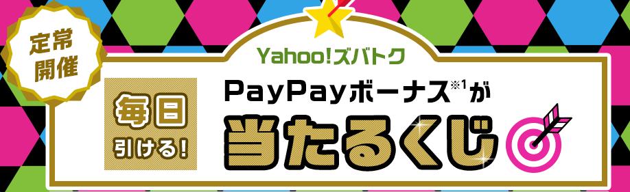 毎日ひける! PayPayボーナスが当たるくじ【常設】